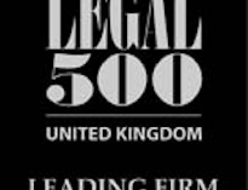 Griffin Law included in The Legal 500 United Kingdom 2021 rankings.