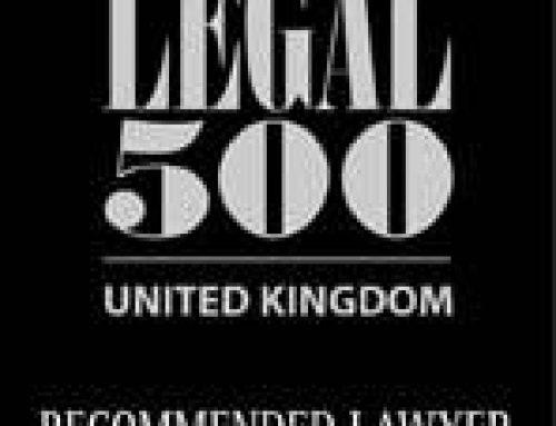 "Griffin Law Team Members Make 2020 Legal 500 ""Recommended Lawyer"" List"