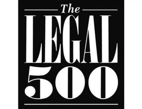 Griffin Law Makes Prestigious Legal 500 List for Third Year Running